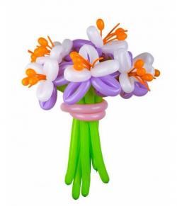 Букеты цветов из шаров