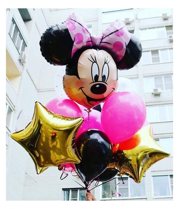 Букет из шаров Минни Маус для Вашего праздника