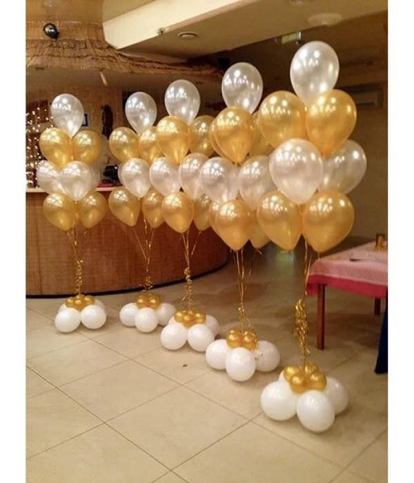 Букет из шаров на свадьбу