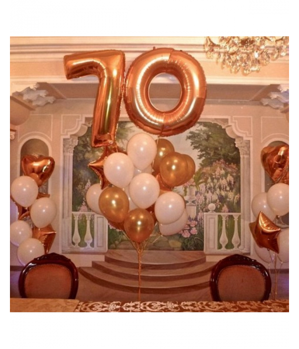 Воздушные шары для Вашего юбилея