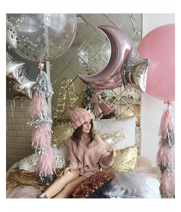 Заказать шары с гелием, композиция из шаров Волшебство