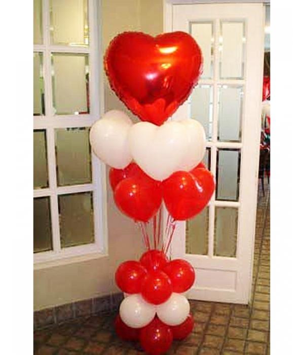 Купить недорогой букет из шаров для девушки