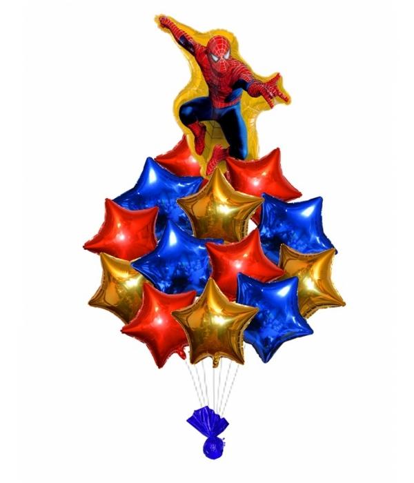"""Букет из шаров """"Человек паук"""""""