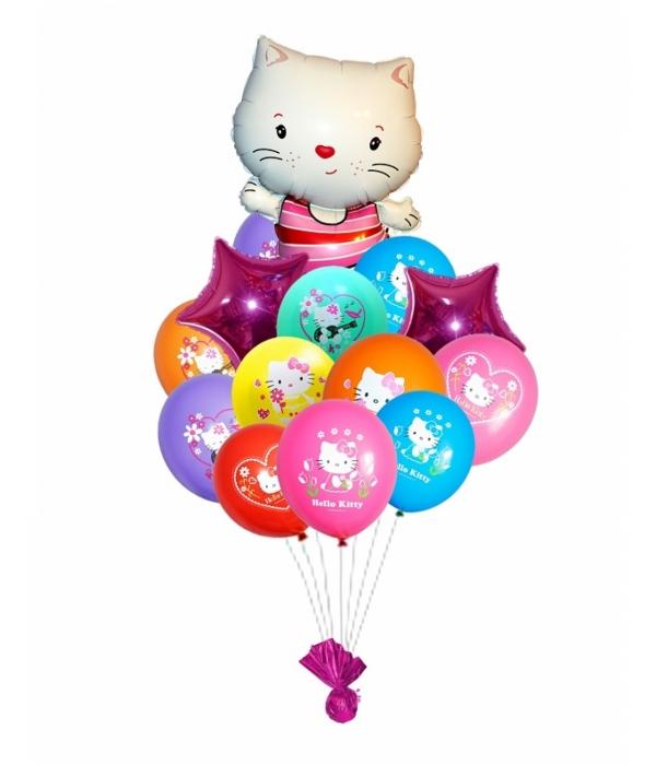 "Букет из шаров ""Kitty"""