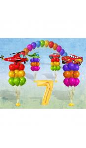 Праздничный микс из шаров для детей №2