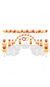 Микс свадебных шаров №1