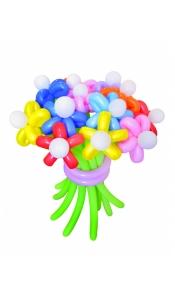 """Цветы из шаров """"Ромашки"""""""