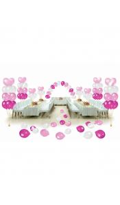 Микс свадебных шаров №7
