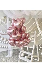"""Фольгированные шары """"Розовое золото"""""""
