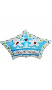 """Фольгированный шар """"Корона принца"""""""