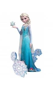 """Фольгированный ходячий шар """"Холодное сердце Принцесса Эльза"""""""