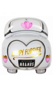 """Фольгированный шар """"Свадебная машина"""""""