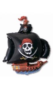 """Фольгированный шар """"Пиратский корабль"""""""