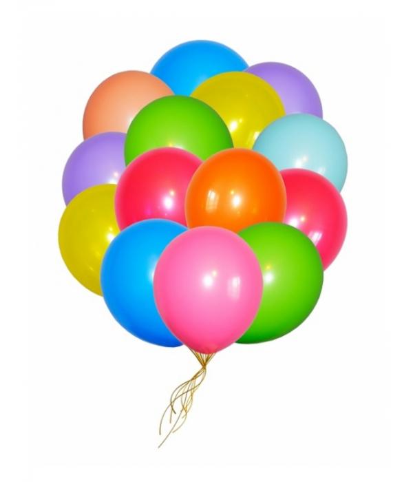 """Заказать шары под потолок """"Ассорти Пастель"""""""